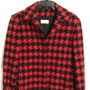 Pendleton Red and Black Size 8 Blazer